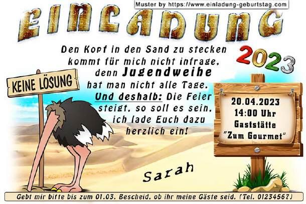 Lustige Einladungskarten Fur Deine Jugendweihe Mit Witzigen Bildern