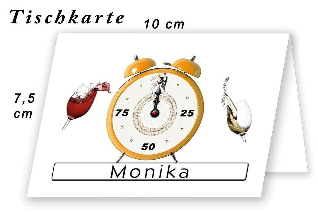 Tischkarte Hochzeit Kreativ 05